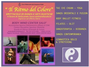 Body Mind Center Salò locandina 31.05.2014 retro