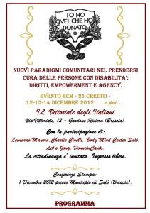 Locandina Convegno 12-13-14.12.2012