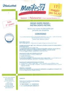 convegno a Lecco 17.05.2014