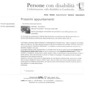 persone con disabilità 20.10.2013