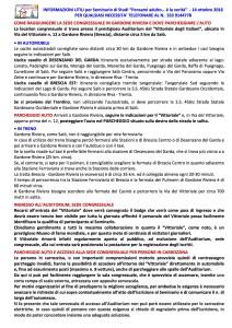 """INFORMAZIONI UTILI per Seminario di Studi """"Pensami adulto… è la verità"""" - 14.10.2016"""