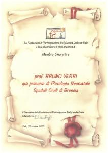 2 pergamena  Verri Bruno - Concesio (Brescia)