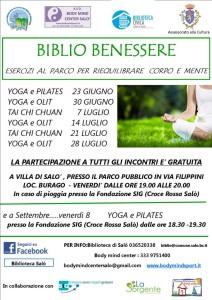 Biblio Benessere 2017