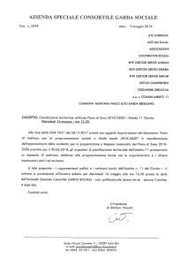 Consultazione territoriale unificata