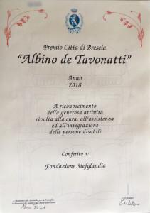 Pergamena Premio de Tavonatti