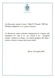 motivazioni premio de Tavonatti