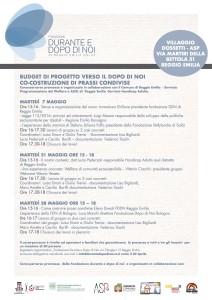 Intervento relazionale della Presidente al corso formativo a Reggio Emilia
