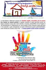 5x1000 Fondazione-di-Partecipazione-StefyLandia-Onlus
